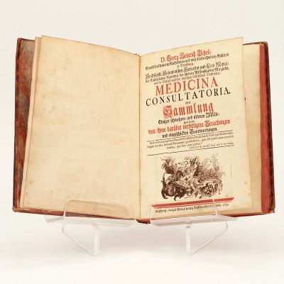 Medicina consultatoria. Oder Sammlung einiger schweren und seltenen Zufälle, samt denen von ihme darüber verfertigten Berathungen und eingeschickten Beatwortungen.