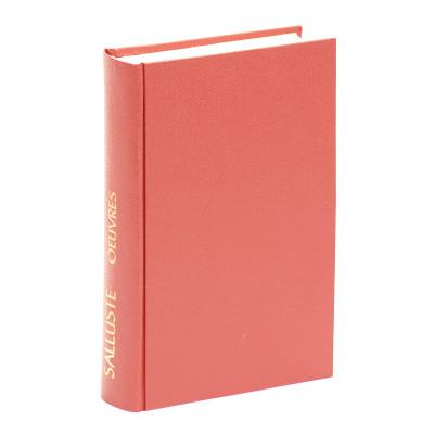 Catilina-Jugurtha-Fragments des Histoires. Texte établi et traduit par Alfred Ernout.