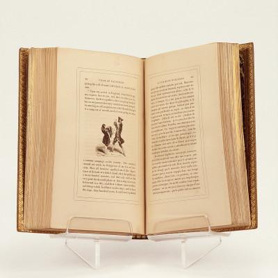 Le vicaire de Wakefield (the vicar of Wakefield), traduit en français avec le texte anglais en regard, par Charles Nodier, précédé d'une Notice par le même sur la vie et les ouvrages de Goldsmith, et suivi de quelques notes.