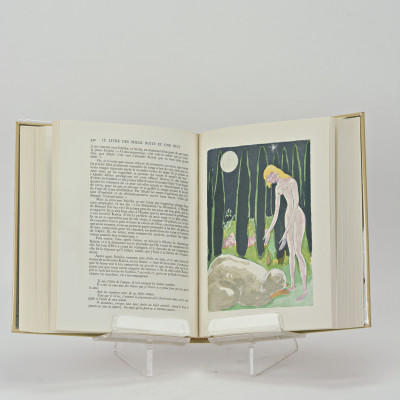 Le livre des Mille Nuits et une Nuit. Traduction littérale et complète de J. C. Mardrus. Édition illustrée de quatre-vingts aquarelles par Van Dongen.