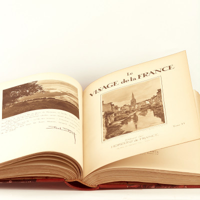 Le Visage de la France. Introduction d'Henri de Régnier.