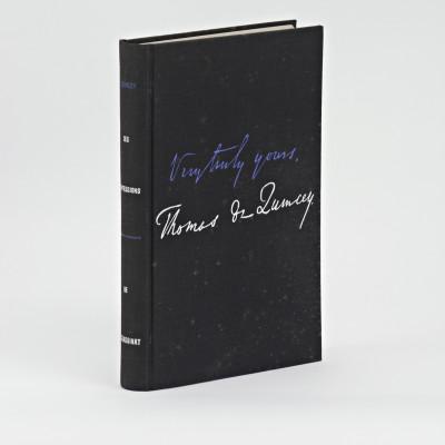 Les confessions d'un opiomane anglais. De l'assassinat considéré comme un des beaux-arts. Traduction, avant-propos et notes de Pierre Leyris.