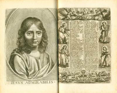 Le Tableau de la Croix représenté dans les cérémonies de la Ste messe ensemble le trésor de la dévotion aux souffrances de Nre. S. J. C. le tout enrichi de belles figures.
