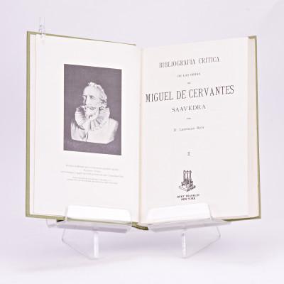Bibliografia critica de las obras de Miguel de Cervantes Saavedra.