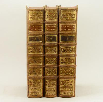 Pandectae Justinianae in novum ordinem Digestae: cum legibus, Codicis et Novellis quae jus Pandectarum confirmant, explicant aut abrogant.