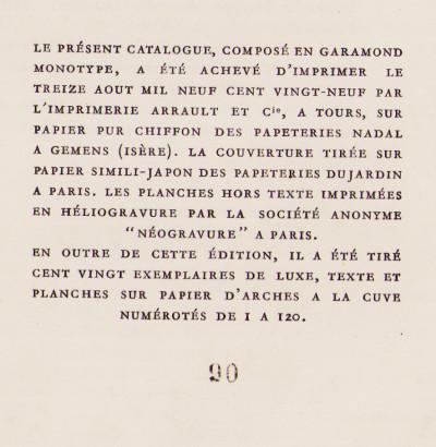 Les éditions G. Van Oest. 1904-1929, catalogue général 1er juillet 1929.