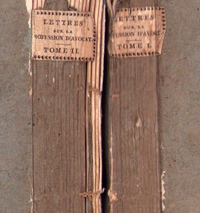 Lettres sur la profession d'avocat et Bibliothèque choisie des livres de droit qu'il est le plus utile d'acquérir et de connaître.