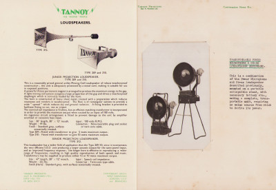 """Radio and acoustic engineers. Tannoy products. The """"sound"""" people."""