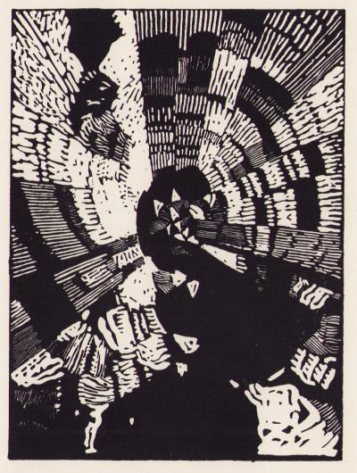 L'évasion spirituelle. Conquête du silence. Poëme. Avec un bois gravé par Frank Kupka.