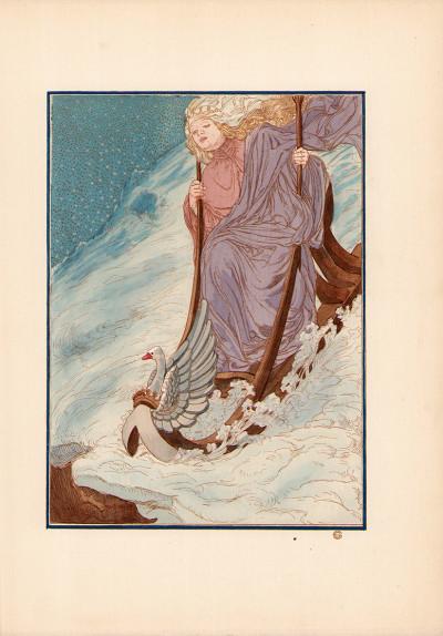 Hespérus. Illustrations en couleurs de Carloz Schwabe.