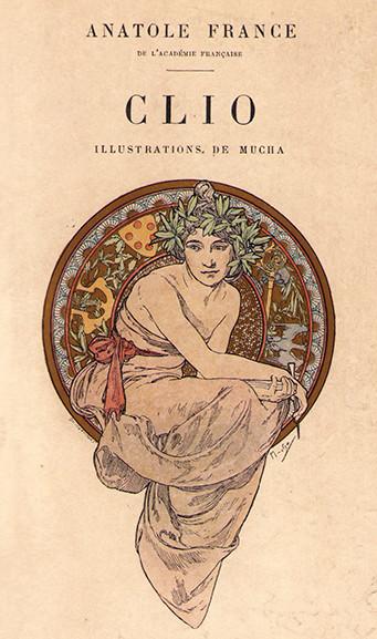 Clio. Illustrations de Mucha.