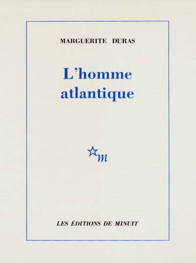 L'homme atlantique.