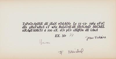 Variations typographiques sur deux poèmes de Raymond Queneau.