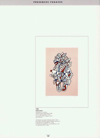 L'œuvre gravé et les livres illustrés par Jean Dubuffet. Catalogue raisonné. Préface de Daniel Abadie.