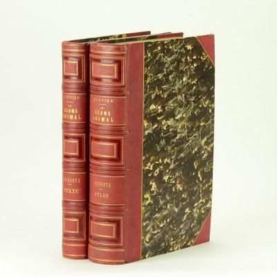 Le règne animal distribué d'après son organisation, pour servir de base à l'histoire naturelle des animaux, et d'introduction à l'anatomie comparée. Les POISSONS. Volume de texte + atlas.