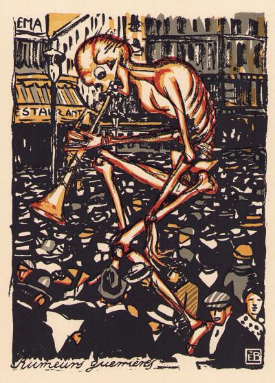 Une Danse macabre. 20 gravures en couleurs par Edmond Bille.