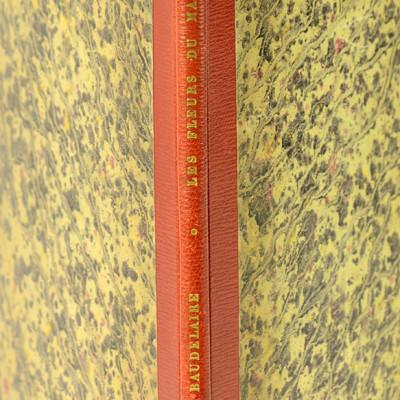 Les Fleurs du mal. Revue des deux mondes. XXVe année. Seconde série de la nouvelle période. Tome dixième, 1er juin 1855.