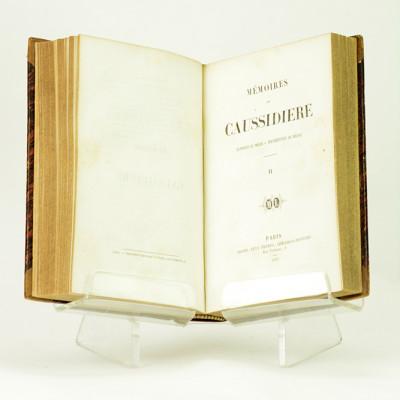 Mémoires de Caussidière, ex-préfet de police er représentant du Peuple.