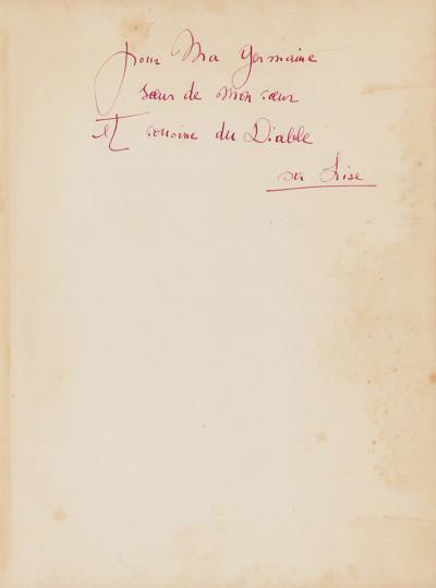 Le Cœur de Pic.Illustré de vingt photographies par Claude Cahun.