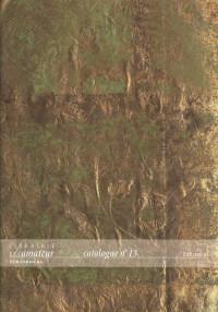 Catalogue 13 - Été 2012