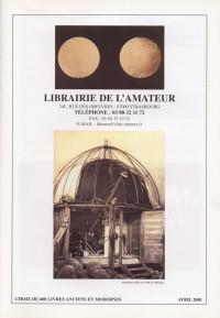 Catalogue avril 2001