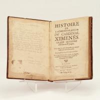 Histoire du cardinal Ximenès.