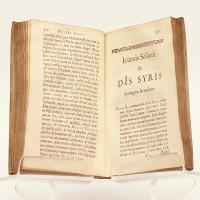 De Dis Syris syntagmata II. Adversaria nempe de numinibus commentitiis in veteri instrumento memoratis. Accedunt quae sunt reliqua Syrorum. Prisca porro Arabum, Aegyptiorum, Persarum, Afrorum, Europaeorum item theologia subinde illustratur.