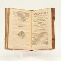 Caeremoniale Romanum ad usus Fratrum Min. Oberv. Sancti Francisci. Capituli Generalis Romae Habiti Anno MDCXXXIX.