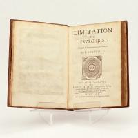 Les Quatre Livres de l'Imitation de Jésus Christ. Traduits et Paraphrasez en vers français par P. Corneille.