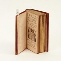 Fables choisies, mises en vers par M. de la Fontaine, & par luy reveuës, corrigées & augmentées.