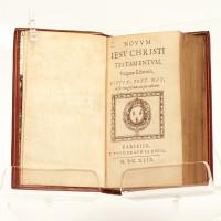 Novum Jesu Christi Testamentum, vulgatae editionis, Sixti V. pont. max. jussu recognitum, atque editum.