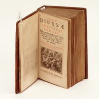 Horae Diurnae Breviarii Romani, Ex Decreto Sacrosancti Concilii Tridentini restituti, S. Pii V. Pont. Max. jussu editi, Clementis VIII & Urbani PP. VIII auctoritate recogniti.