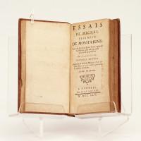 Essais de Michel seigneur de Montaigne, avec des notes; et une table générale des matières, plus utile que celles qui avoient paru jusqu'ici.