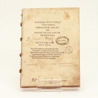 Antonii Mancinelli Veliterni sermonum decas ad angelum colotium aesinatem. De livore per Ant. Mancinellus.