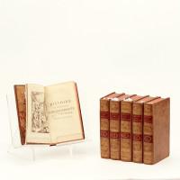 Histoire de l'admirable Don Quichotte de la Manche. Traduite de l'espagnol de Michel de Cervantès. Nouvelle édition, revue, corrigée & augmentée.