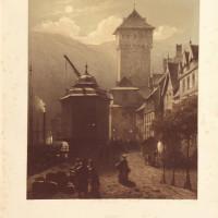 Le Rhin monumental et pittoresque. Aquarelles d'après nature, lithographiées en plusieurs teintes par MM. Fourmois, Lauters et Stroobant. Texte par M. L. Hymans.
