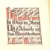 Hitt grattle mer bi Wind um Sturm uff d'Schnecke nuff vom Müenschterdhurm.