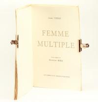 Femme multiple. Cuivres originaux de Manfredo Borsi.