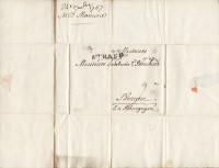 Deux lettres autographes signées adressée à la Maison Bouchard, à Beaune.