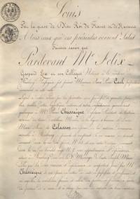 Contrat d'acquisition d'une maison sise au N°15 de la rue des Frères.
