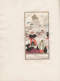 Une aventure de Casanova. Histoire complète de ses amours avec la belle C.C. et la religieuse de Muran. Compositions de S. Sauvage gravées avec la collaboration de E. Feltesse.