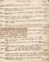 Journal des visites de malades hors de Barr et en ville, depuis 1810. Manuscrit.