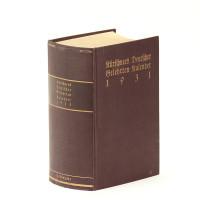 Kürschners Deutscher Gelehrten-Kalender. 1931.