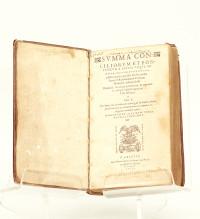 Summa conciliorum et pontificum a Petro usque ad Iulium tertium: succincte complectens omnia, quæ alibi sparsim tradita sunt.