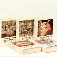Histoire générale de la Presse française, publiée sous la direction de Claude Bellanger, Jacques Godechot, Pierre Guiral et Fernand Terrou. Préface de Pierre Renouvin.