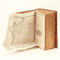 Almanach royal, année bissextile M. DCC. XCII. présenté à sa Majesté pour la première fois en 1699, par Laurent d'Houry, éditeur.