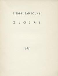 Gloire 1939.
