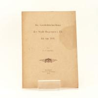 Die Geschichtschreibung der Stadt Hagenau i. Els. bis um 1850.