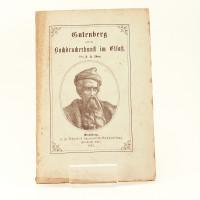 Gutenberg und die Buchdruckerkunst im Elsass.