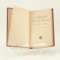 Cahiers alsaciens-Elsässer hefte. Collection complète.